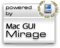 Powered by Mac GUI Mirage