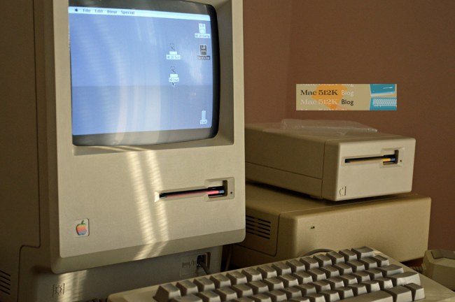 Apple Macintosh 512K computer Mac Floppy Drive Mount Bracket