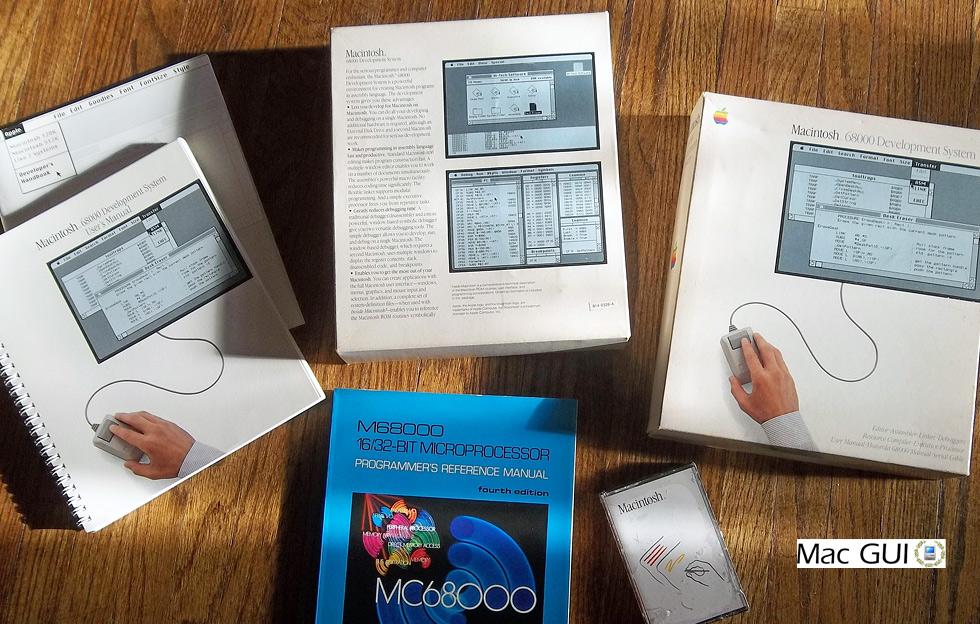 Mac GUI :: Macintosh 68000 Development System