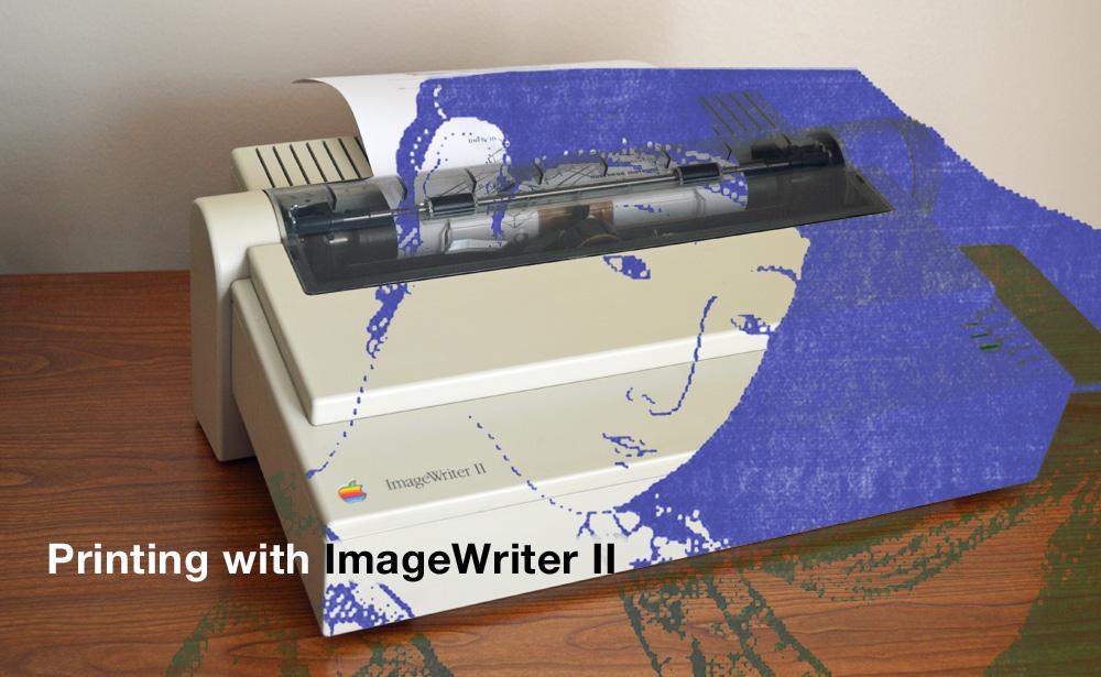 Mac GUI :: Printing with the ImageWriter II
