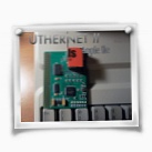 Here is a closeup of the new beta Uthernet II card...