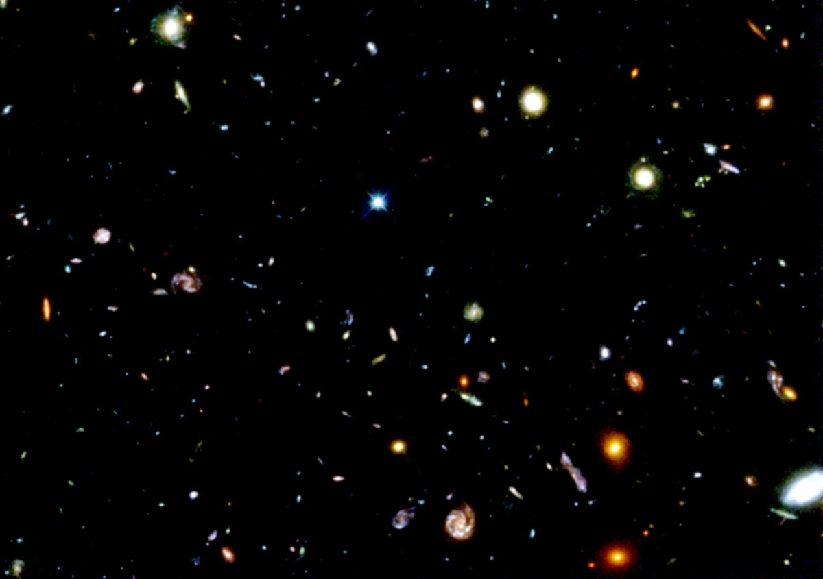 Hubble Deep Field Space Photography - Pics about space